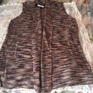 NWT Long Sweater Vest